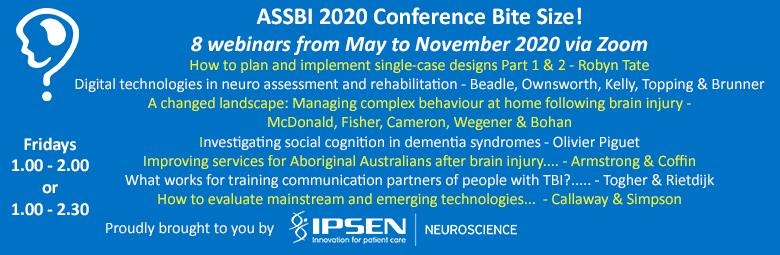ASSBI 2020 Conference Bite Size!