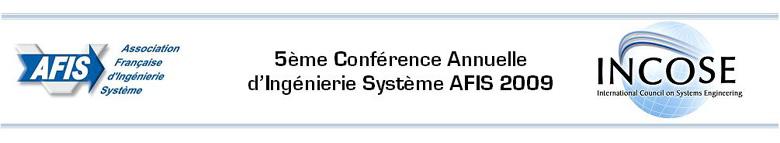 Conférence AFIS 2009