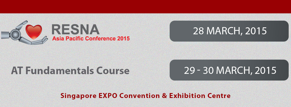 RESNA Asia Pacific Conference 2015