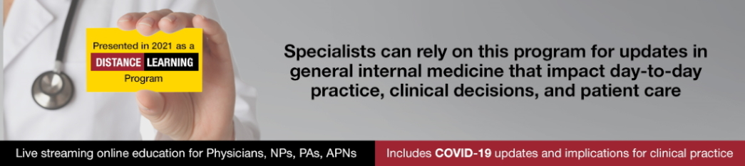 Updates in General Internal Medicine for Specialists