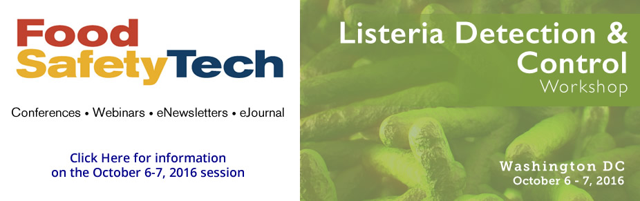 Food Safety Tech's Listeria Detection & Control Workshop