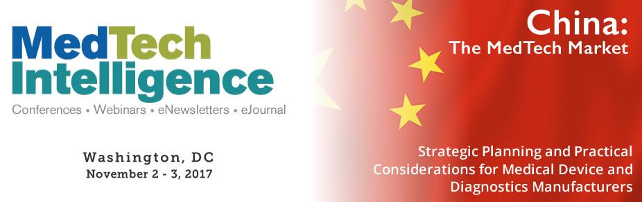 China: The MedTech Market - November 2-3, 2017 - Washington, DC