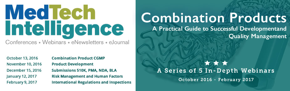 Combination Products Webinar Series