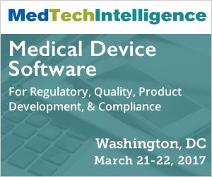 Medical Device Software - March 21-22, 2017 - Washington, DC