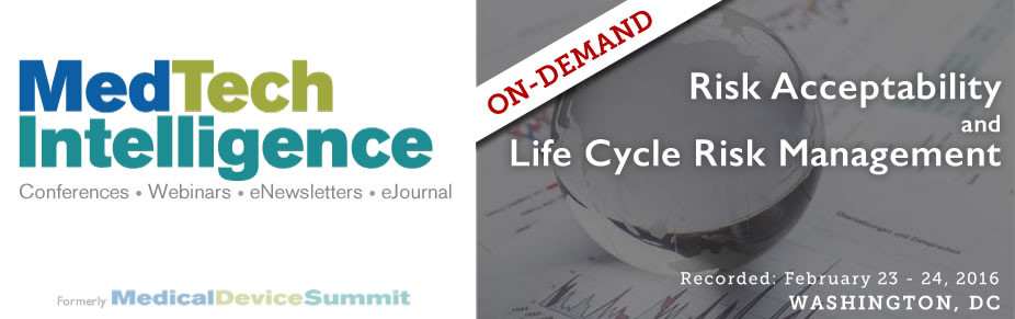 On-Demand - Risk Acceptability and Life Cycle Risk Management