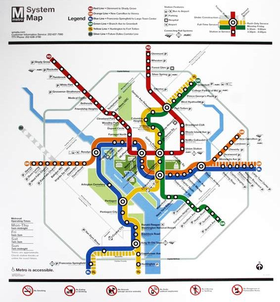 WMATA Updated Map