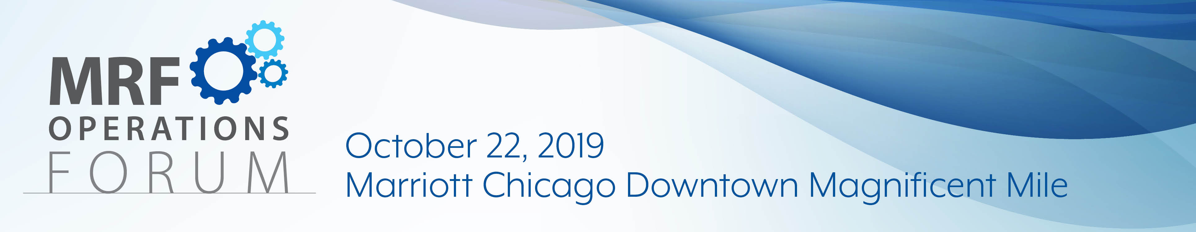 2019 MRF Operations Forum