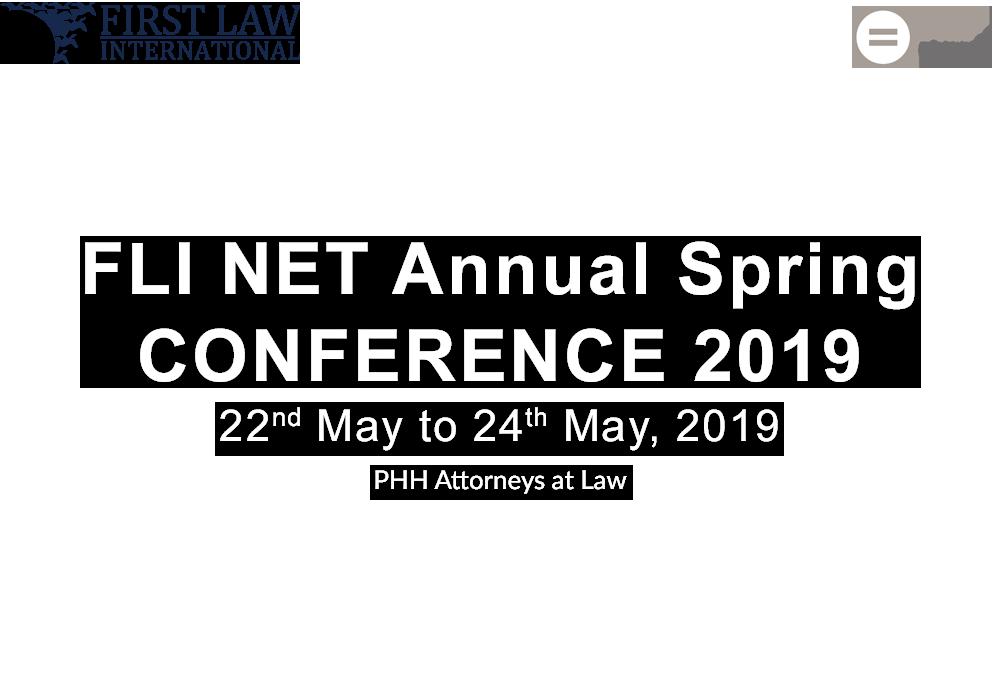 FLI NET Annual Spring 2019 Conference – Vienna, Austria