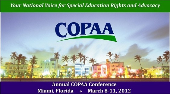copaa logo and picture of south beach