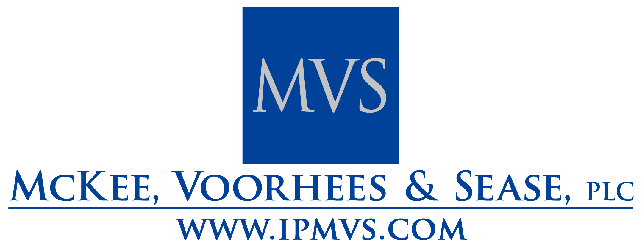 MVS blue logo - centered with website - stacked - high res-01