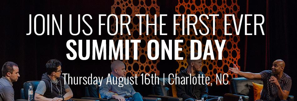 Summit One Day - Charlotte, NC