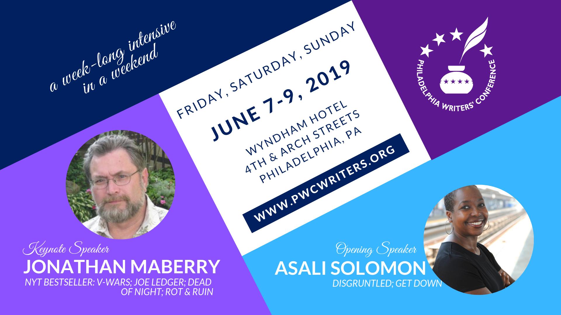 2019 Philadelphia Writers Conference