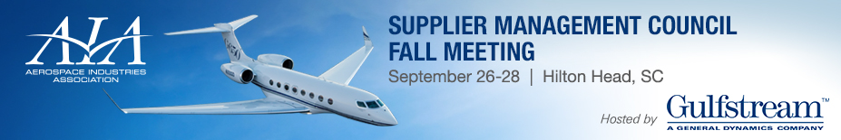 2017 Supplier Management Council Fall Meeting - Hosted by General Dynamics