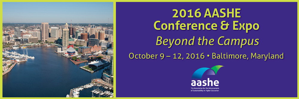 2016 AASHE Conference & Expo