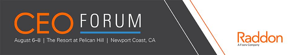 2018 Raddon CEO Forum