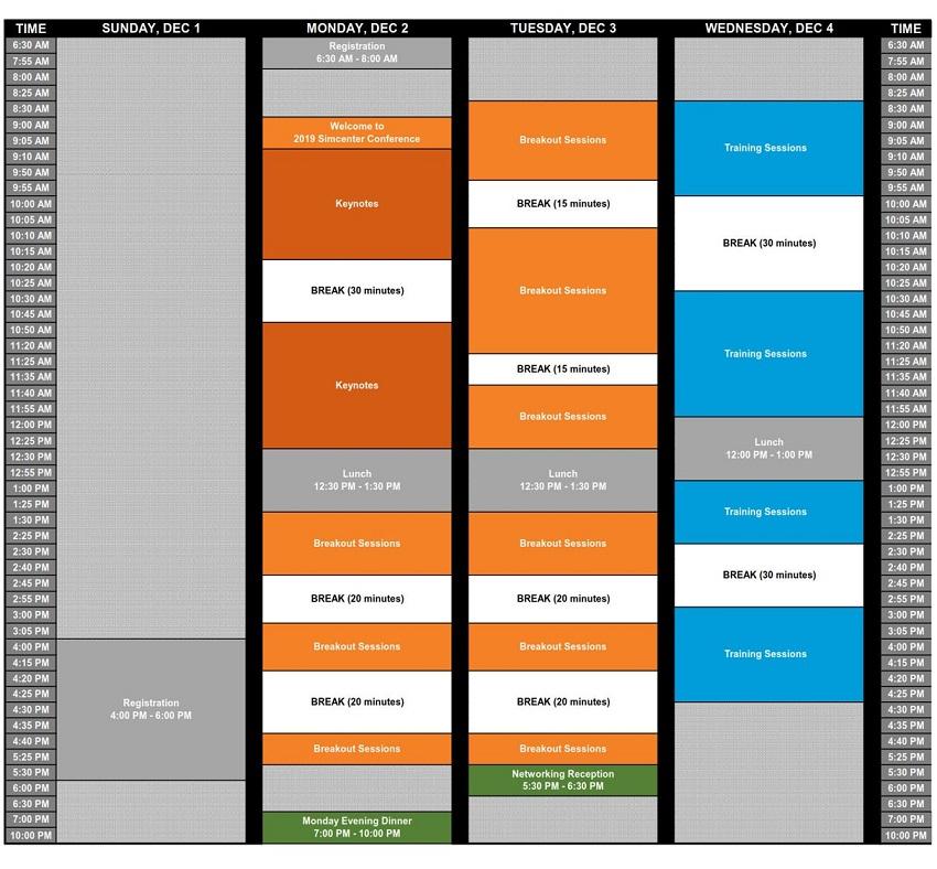 updated simcenter block agenda