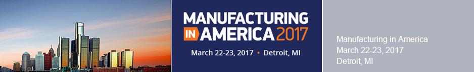 Manufacturing in America 2017