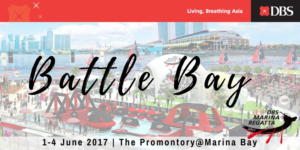 Battle Bay at DBS Marina Regatta 2017