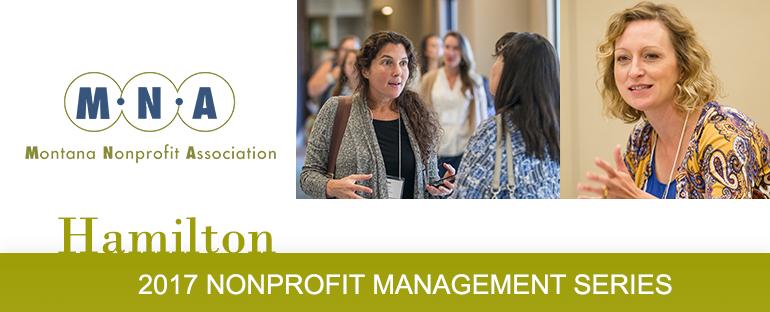 2017 Nonprofit Management Series -Hamilton
