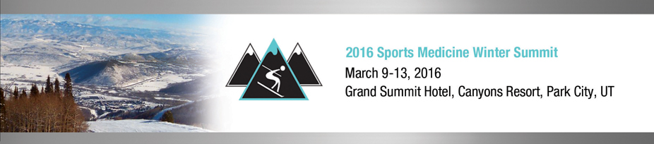 2016 Sports Medicine Winter Summit