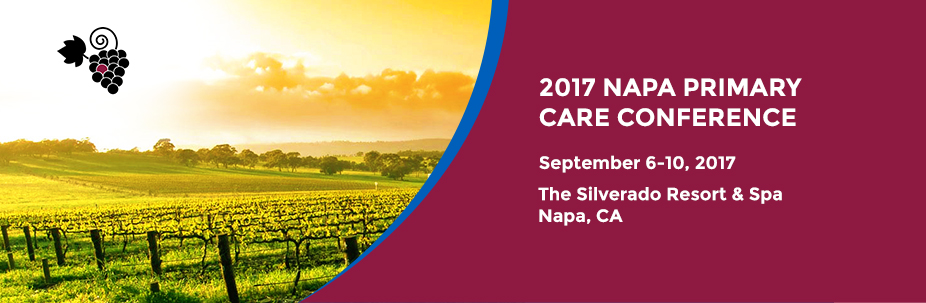 2017 Napa Primary Care Conference-Caring for the Active and Athletic Patient