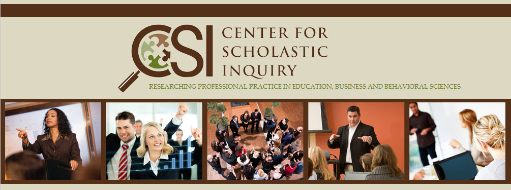 Center for Scholastic Inquiry Publication