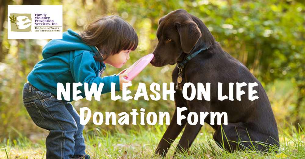NEW LEASH ON LIFE DONATION