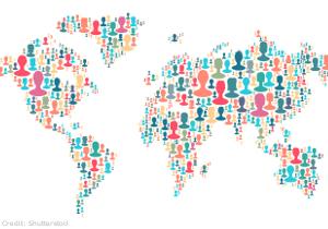 People world map 300x210