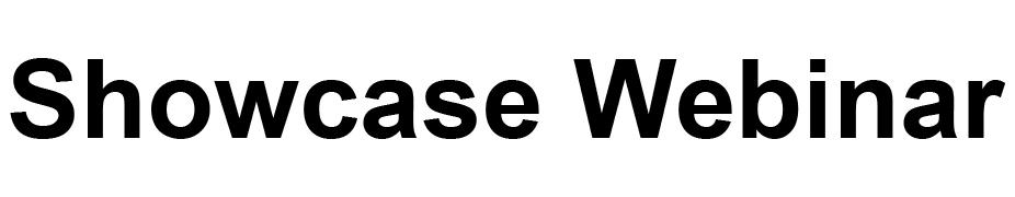 Showcase Webinar