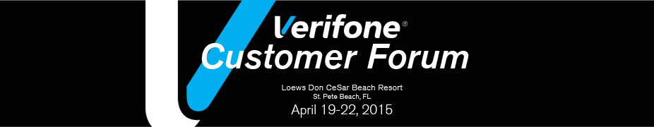 2015 Verifone Customer Forum