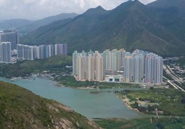 Lantau Island Skyline