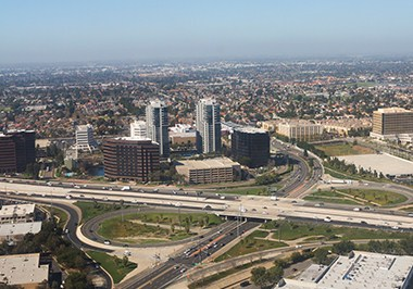 Aerial View Orange County
