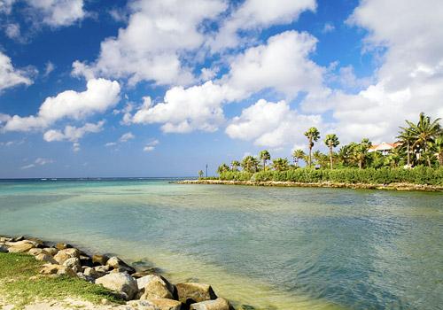 Oranjestad Coastline, Aruba