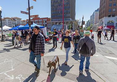 Downtown Berkeley Sunday Streets