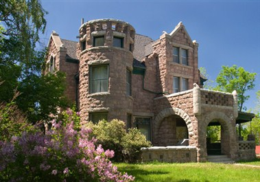 Castle in Helena's Mansion District