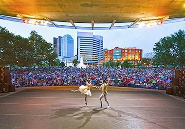 BalletMet Bicentennial Park Performance