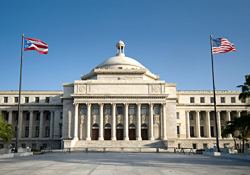 Puerto Rico Capitol - Home of the Legislative Asse