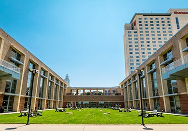 Overland Park Convention Center Courtyard