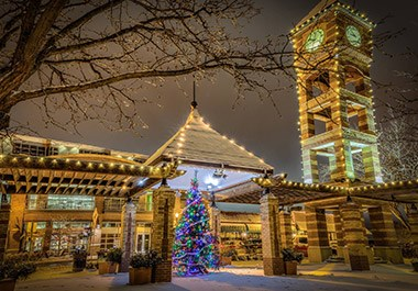Downtown Christmas in Overland Park