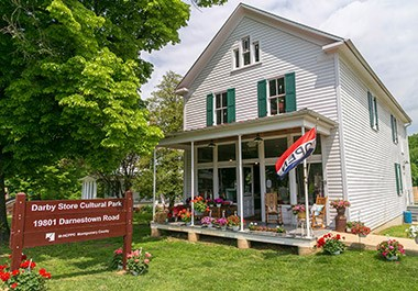 Patriots Chesapeake Farmhouse Darby Store Exterior