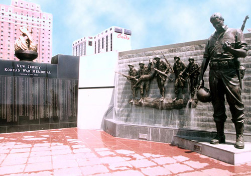 Korean War Memorial in Atlantic City