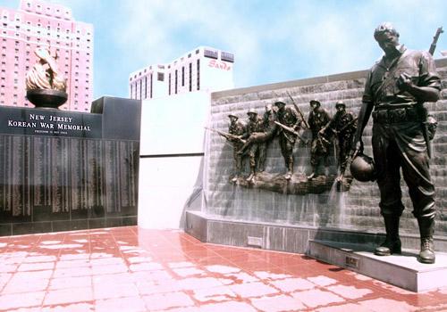 Korean War Memorial in Atlantic City