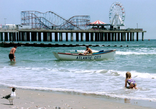 Steel Pier amusement park