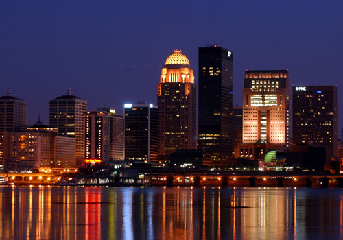 Louisville Night Skyline