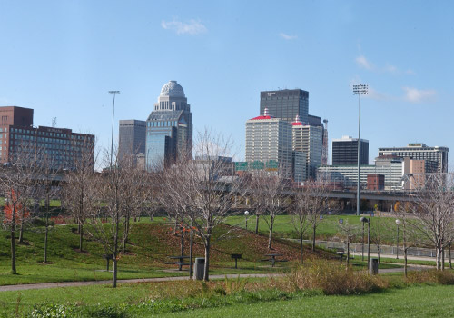 Louisville Skyline at Day