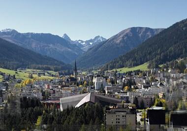 Davos Cityscape