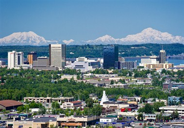 Downtown Anchorage Skyline