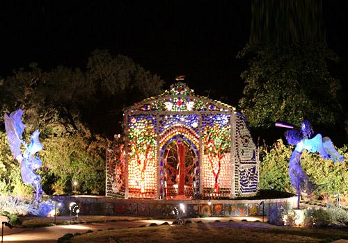 Minnie Evans Sculpture Garden