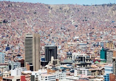 Bolivia Cityscape