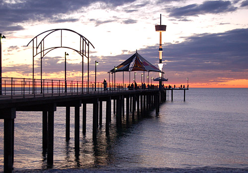 Sunset at Brighton Jetty